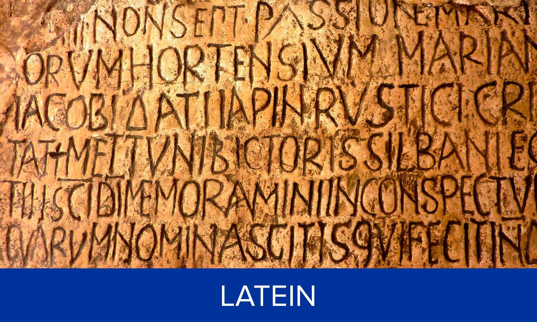 Fachbereich Latein
