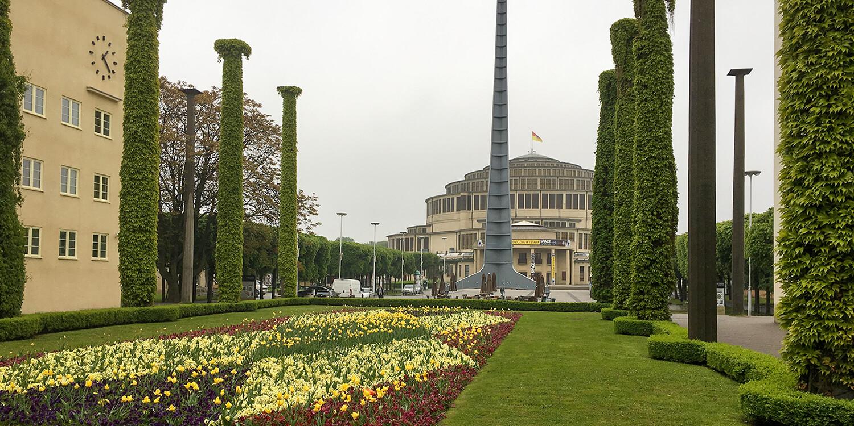 Jahrhunderthalle Breslau